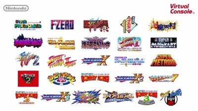 New 3DS 用 SFC VC タイトル