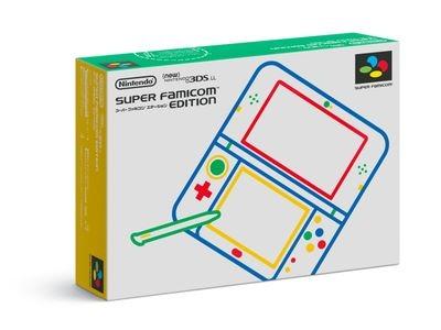 New 3DS LL SFC エディション 外箱