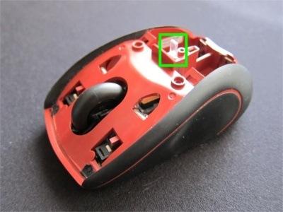 M505 内部 インジケーターの部品