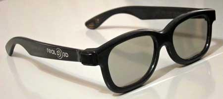 RealD 用 3D メガネ